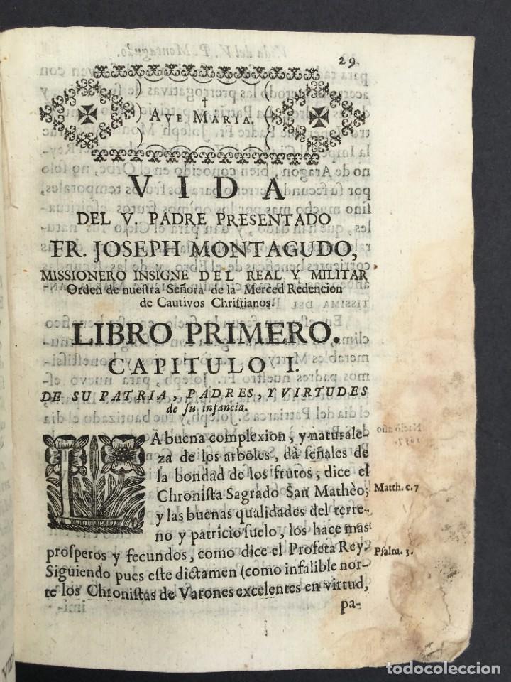 Libros antiguos: 1741 - BRUJAS - HECHICEROS - ENDEMONIADOS - ORDEN DE LA MERCED - PERGAMINO - ZARAGOZA - Jaca Huesca - Foto 16 - 259767310