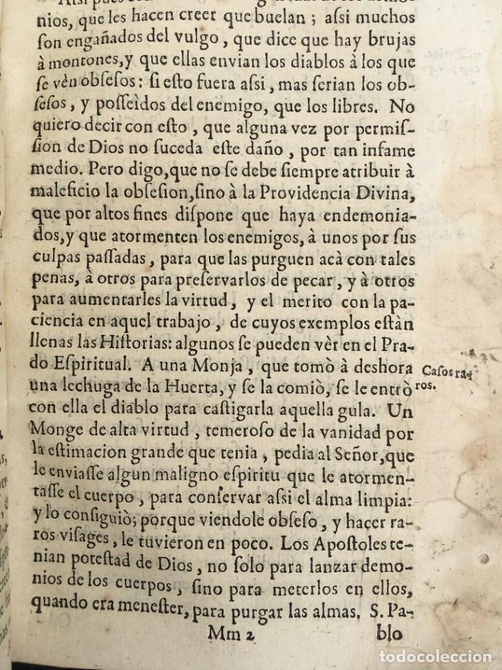 Libros antiguos: 1741 - BRUJAS - HECHICEROS - ENDEMONIADOS - ORDEN DE LA MERCED - PERGAMINO - ZARAGOZA - Jaca Huesca - Foto 65 - 259767310