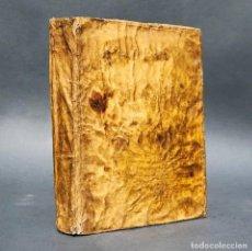 Libros antiguos: AÑO 1781 - SERMONES DEL PADRE CARLOS DE LA RUE, PREDICADOR DE LUIS XIV, REY DE FRANCIA - PERGAMINO. Lote 259872390