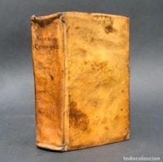 Libros antiguos: AÑO 1747 - THEOLOGIA REDACTA IN COMPENDIUM - PERGAMINO - TEOLOGIA. Lote 259873945