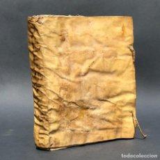 Libros antiguos: AÑO 1640 - THESAURUS SACRORUM RITUUM SEU COMMENTARIA IN RUBRICAS BREVIARII ROMANI - PREGAMINO. Lote 259874760
