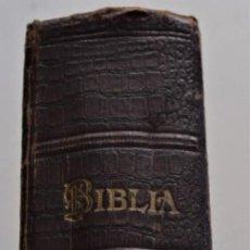 Libros antiguos: LA SANTA BIBLIA CONTIENE LOS SAGRADOS LIBROS DEL ANTIGUO Y NUEVO TESTAMENTO - SOCIEDAD BÍBLICA 1929. Lote 259918440