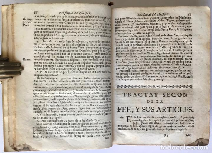 Libros antiguos: FONT MYSTICA, Y SAGRADA, DEL PARADIS DE LA IGLESIA, dividida en quatre parts: en que se explica... - Foto 3 - 260815085