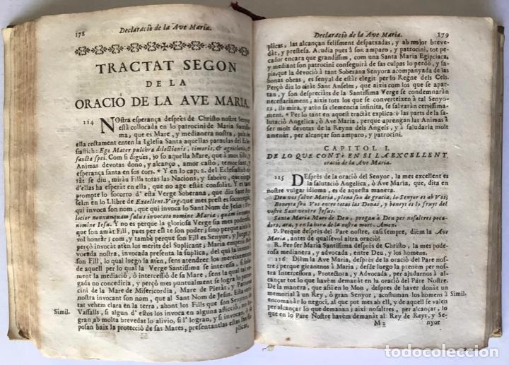 Libros antiguos: FONT MYSTICA, Y SAGRADA, DEL PARADIS DE LA IGLESIA, dividida en quatre parts: en que se explica... - Foto 4 - 260815085