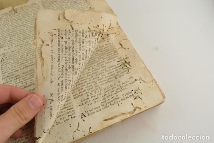 Libros antiguos: Divi Thomae Aquinatis Doctoris Angelici, 4 tomos, 1787, Simon Occhi, Venetiis. 23,5x19cm - Foto 4 - 260828500