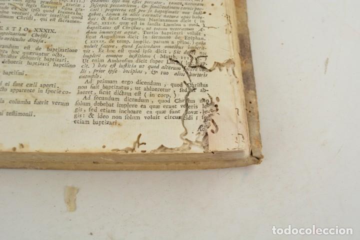 Libros antiguos: Divi Thomae Aquinatis Doctoris Angelici, 4 tomos, 1787, Simon Occhi, Venetiis. 23,5x19cm - Foto 12 - 260828500