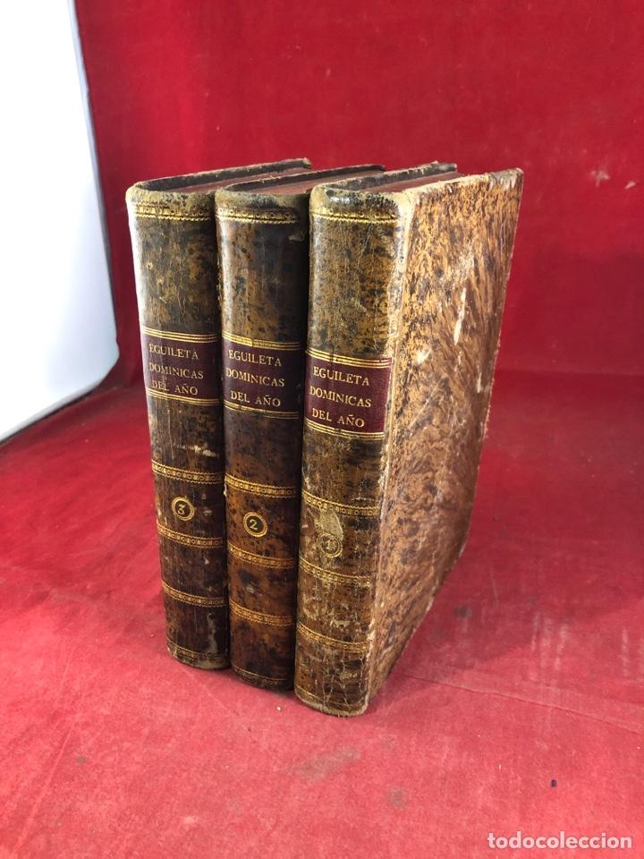 SERMONES POR ANTONIO DE EGUILETA (Libros Antiguos, Raros y Curiosos - Religión)