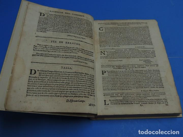 Libros antiguos: MEDULA DE LA THEOLOGIA MORAL.- BUSEMBAUM (AÑO 1700) - Foto 9 - 262922610