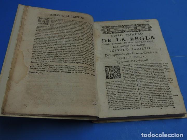 Libros antiguos: MEDULA DE LA THEOLOGIA MORAL.- BUSEMBAUM (AÑO 1700) - Foto 10 - 262922610
