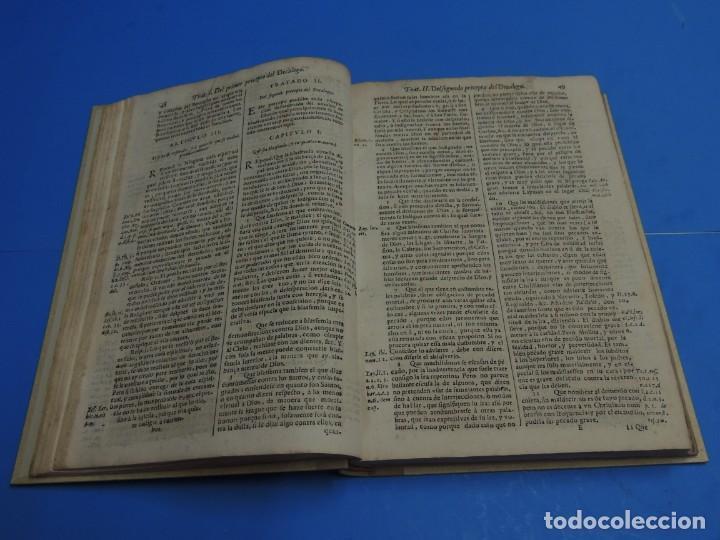 Libros antiguos: MEDULA DE LA THEOLOGIA MORAL.- BUSEMBAUM (AÑO 1700) - Foto 12 - 262922610