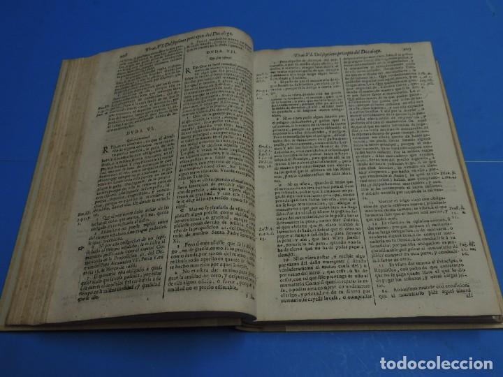 Libros antiguos: MEDULA DE LA THEOLOGIA MORAL.- BUSEMBAUM (AÑO 1700) - Foto 13 - 262922610