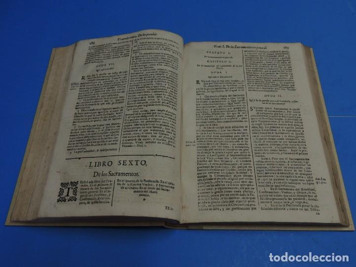 Libros antiguos: MEDULA DE LA THEOLOGIA MORAL.- BUSEMBAUM (AÑO 1700) - Foto 14 - 262922610