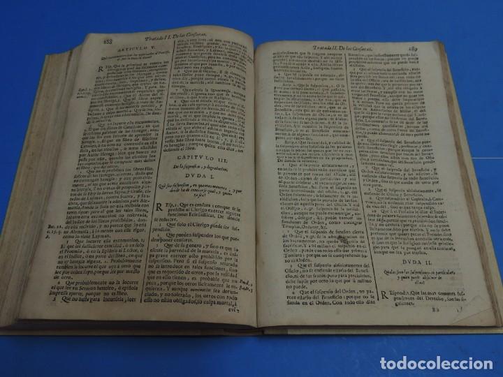 Libros antiguos: MEDULA DE LA THEOLOGIA MORAL.- BUSEMBAUM (AÑO 1700) - Foto 16 - 262922610