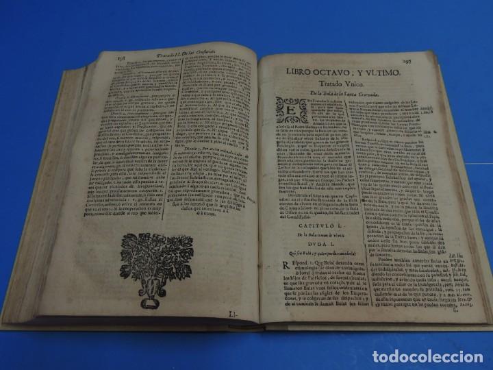 Libros antiguos: MEDULA DE LA THEOLOGIA MORAL.- BUSEMBAUM (AÑO 1700) - Foto 17 - 262922610