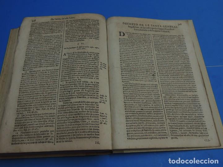 Libros antiguos: MEDULA DE LA THEOLOGIA MORAL.- BUSEMBAUM (AÑO 1700) - Foto 20 - 262922610