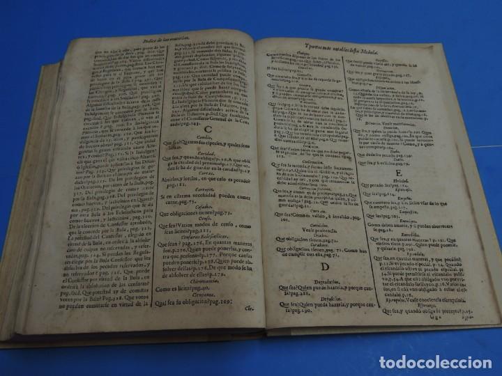Libros antiguos: MEDULA DE LA THEOLOGIA MORAL.- BUSEMBAUM (AÑO 1700) - Foto 22 - 262922610