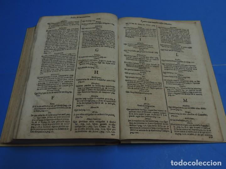 Libros antiguos: MEDULA DE LA THEOLOGIA MORAL.- BUSEMBAUM (AÑO 1700) - Foto 23 - 262922610