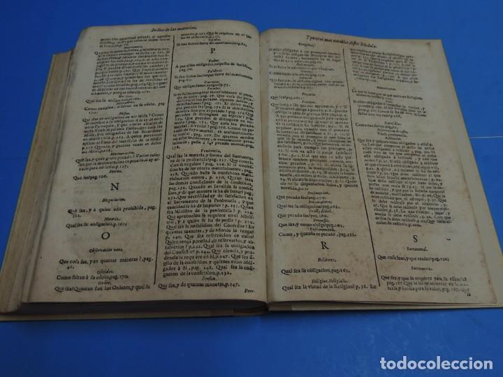 Libros antiguos: MEDULA DE LA THEOLOGIA MORAL.- BUSEMBAUM (AÑO 1700) - Foto 24 - 262922610