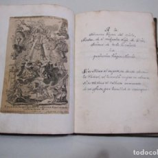 Libros antiguos: MANUSCRITO CON 56 GRABADOS DE KLAUBER. LETANIA LAURETANA. ROMANCE. MITAD SIGLO XVIII. Lote 263107515