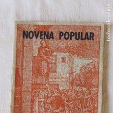 Libros antiguos: NOVENA AL BEATO MAESTRO JUAN DE AVILA, 1953 PATRONO DEL CLERO SECULAR. Lote 263917610
