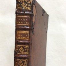 Libros antiguos: L´ESPRIT OU LES PRINCIPES DU DROIT CANONIQUE, 1760 - RARO. Lote 264115725