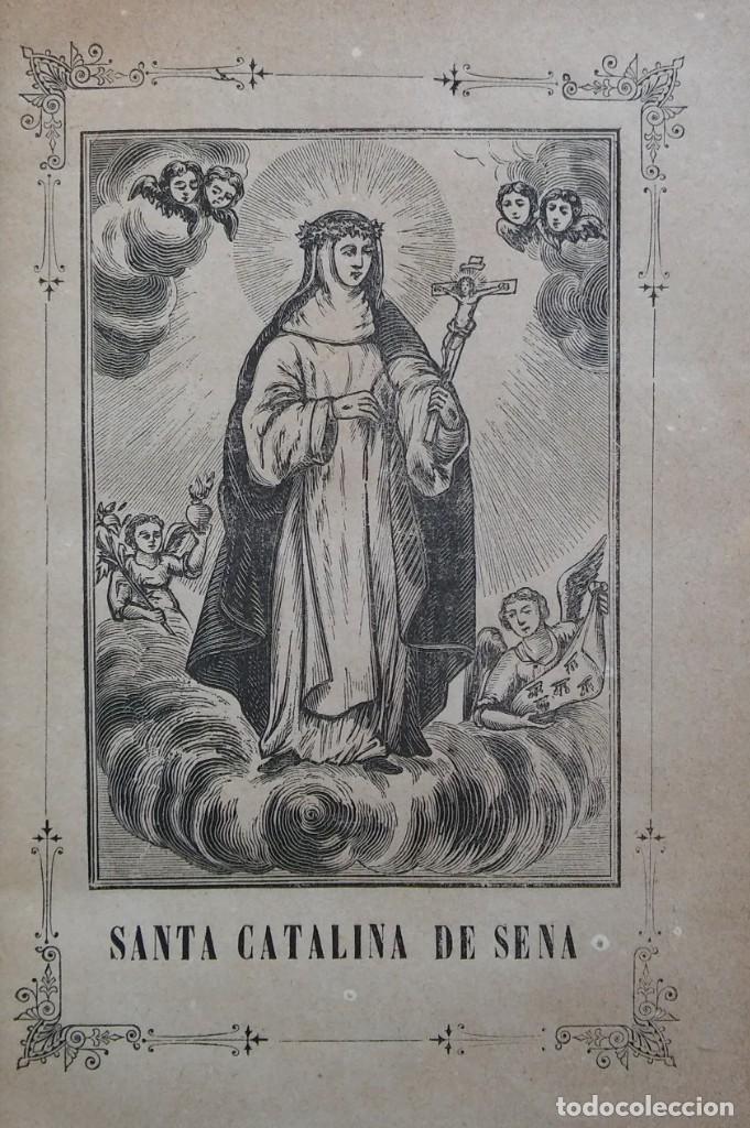 VIDA PORTENTOSA DE SANTA CATALINA DE SENA, JOSÉ CASTELLS. SAN GERVASIO, 1891 (Libros Antiguos, Raros y Curiosos - Religión)