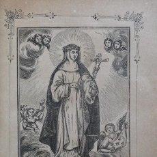Libros antiguos: VIDA PORTENTOSA DE SANTA CATALINA DE SENA, JOSÉ CASTELLS. SAN GERVASIO, 1891. Lote 265217619