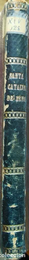 Libros antiguos: Vida portentosa de Santa Catalina de Sena, José Castells. San Gervasio, 1891 - Foto 4 - 265217619