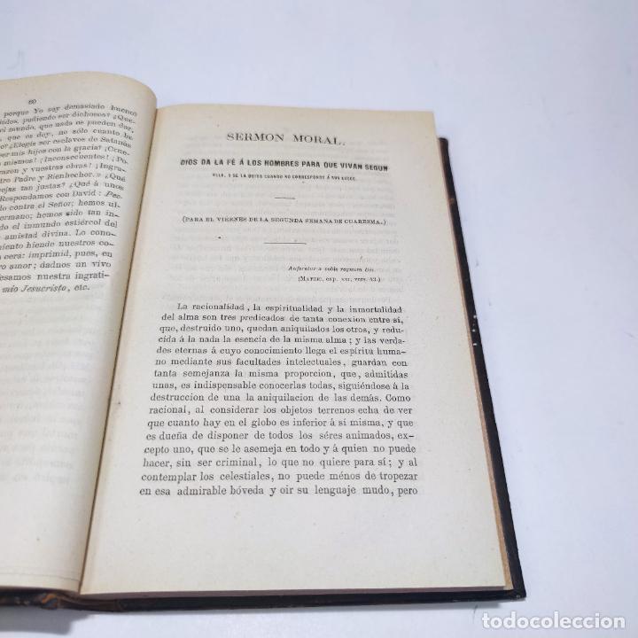 Libros antiguos: Sermones inéditos morales, dogmáticos y panegíricos. Dr. D. Fr. Jacinto María Martínez y Sáez. 1880. - Foto 8 - 265823749