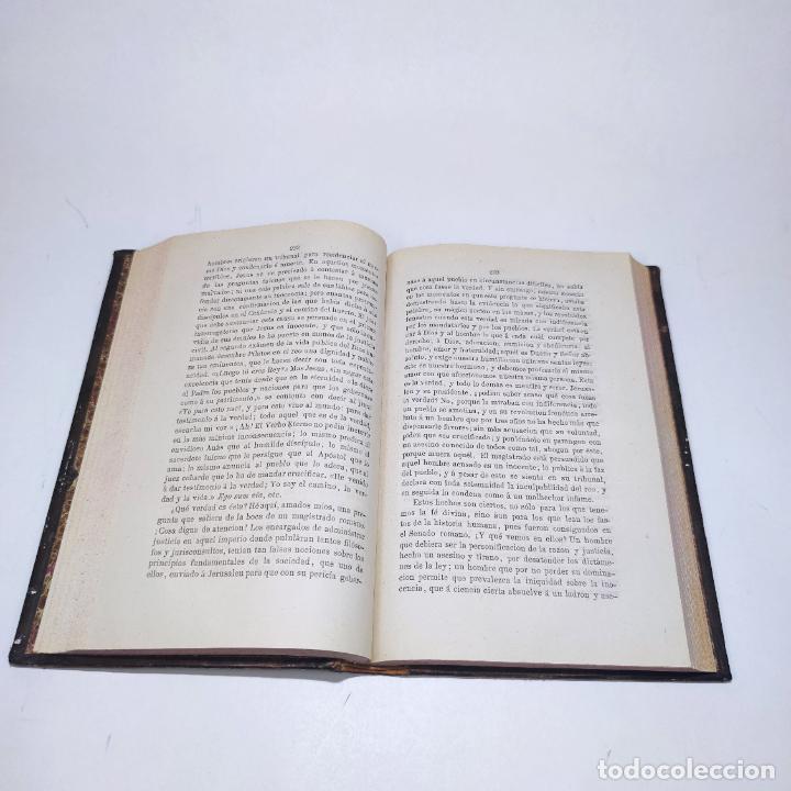Libros antiguos: Sermones inéditos morales, dogmáticos y panegíricos. Dr. D. Fr. Jacinto María Martínez y Sáez. 1880. - Foto 9 - 265823749