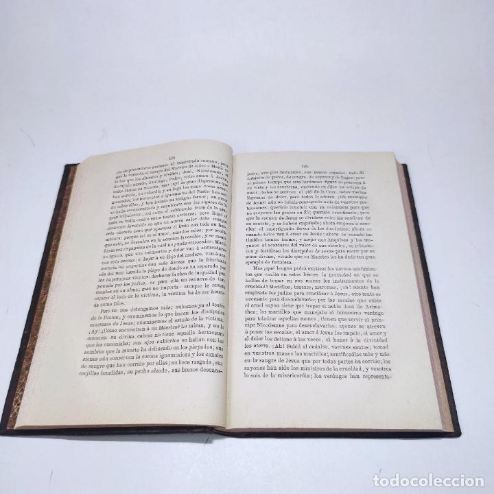 Libros antiguos: Sermones inéditos morales, dogmáticos y panegíricos. Dr. D. Fr. Jacinto María Martínez y Sáez. 1880. - Foto 14 - 265823749