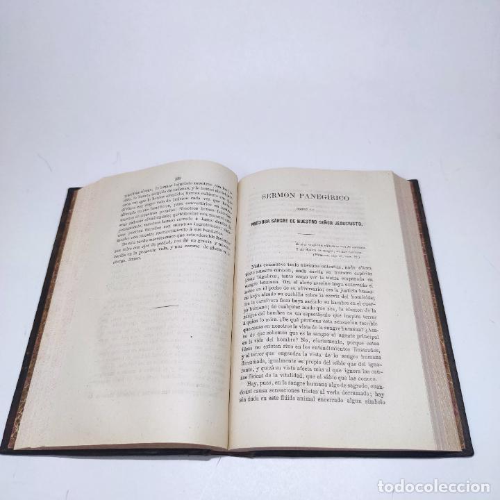 Libros antiguos: Sermones inéditos morales, dogmáticos y panegíricos. Dr. D. Fr. Jacinto María Martínez y Sáez. 1880. - Foto 15 - 265823749