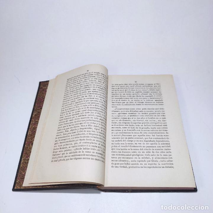 Libros antiguos: Sermones inéditos morales, dogmáticos y panegíricos. Dr. D. Fr. Jacinto María Martínez y Sáez. 1880. - Foto 20 - 265823749
