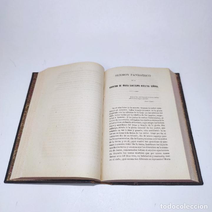 Libros antiguos: Sermones inéditos morales, dogmáticos y panegíricos. Dr. D. Fr. Jacinto María Martínez y Sáez. 1880. - Foto 21 - 265823749
