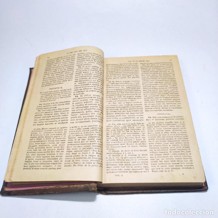 Libros antiguos: Praelectiones theologicae quas in collegio romano S.J. Joannes Perrone. 4 tomos. París. 1887. - Foto 8 - 265830979
