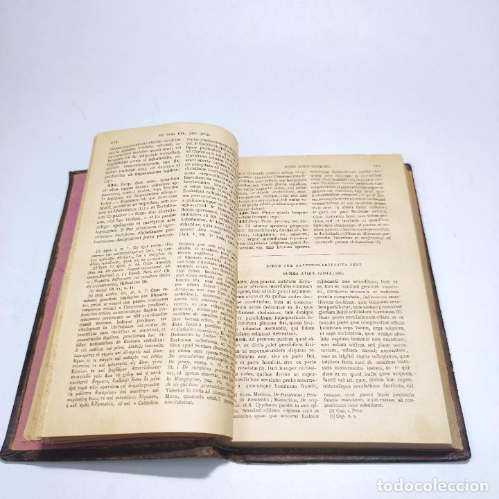 Libros antiguos: Praelectiones theologicae quas in collegio romano S.J. Joannes Perrone. 4 tomos. París. 1887. - Foto 9 - 265830979