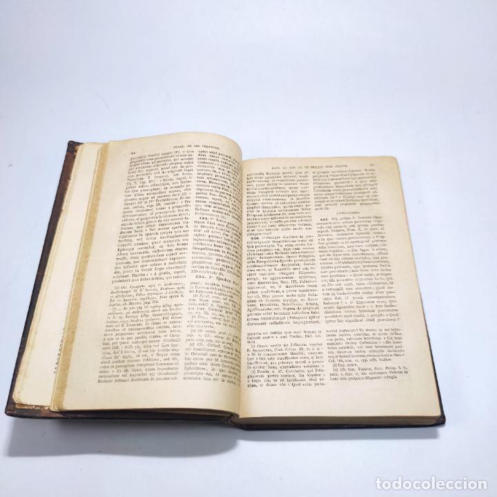 Libros antiguos: Praelectiones theologicae quas in collegio romano S.J. Joannes Perrone. 4 tomos. París. 1887. - Foto 16 - 265830979