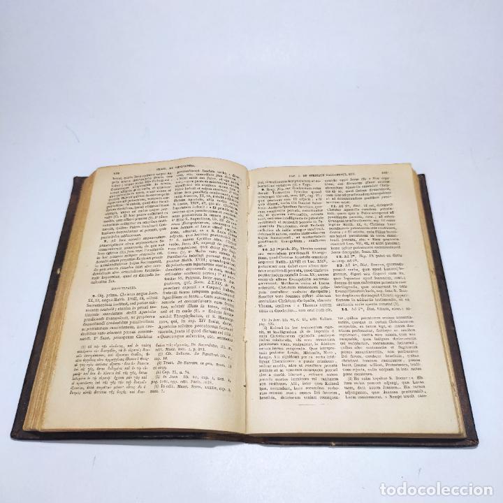 Libros antiguos: Praelectiones theologicae quas in collegio romano S.J. Joannes Perrone. 4 tomos. París. 1887. - Foto 24 - 265830979
