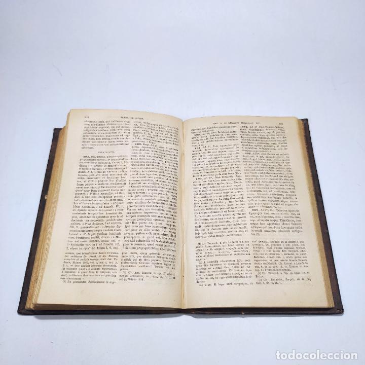 Libros antiguos: Praelectiones theologicae quas in collegio romano S.J. Joannes Perrone. 4 tomos. París. 1887. - Foto 25 - 265830979