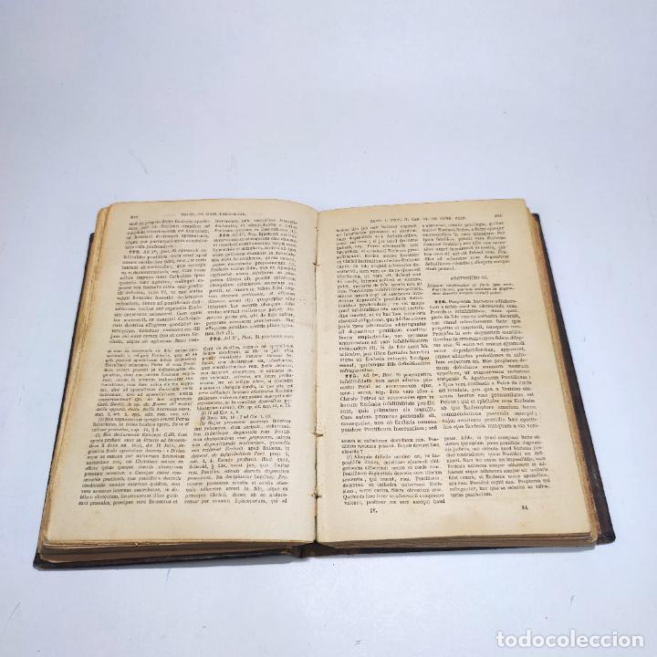 Libros antiguos: Praelectiones theologicae quas in collegio romano S.J. Joannes Perrone. 4 tomos. París. 1887. - Foto 31 - 265830979