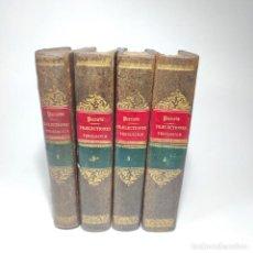 Libros antiguos: PRAELECTIONES THEOLOGICAE QUAS IN COLLEGIO ROMANO S.J. JOANNES PERRONE. 4 TOMOS. PARÍS. 1887.. Lote 265830979