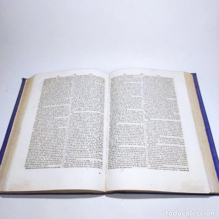 Libros antiguos: Diccionario de teología. Por el abate Bergier. 4 tomos. Madrid. 1847. Imp. Don Primitivo Fuentes. - Foto 12 - 265845699