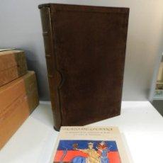 Libros antiguos: FACSIMIL BEATO LIEBANA - S XII MÁNCHESTER - ED PATRIMONIO - INCLUYE LIBRO ESTUDIOS - ÚNICO COMPLETO. Lote 265835229