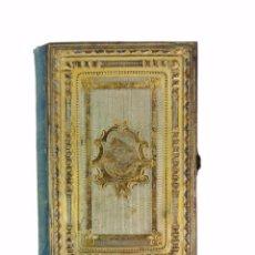 Libros antiguos: OFICIO DIVINO PARA TODOS LOS DÍAS DE FIESTA. ENCUADERNACIÓN GRABADA METAL. PARIS LAPLACE CA 1870. Lote 269318143