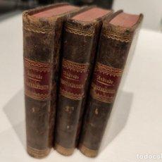 Libros antiguos: MEDITACIONES DIARIAS POR ALONSO DE ANDRADE, 1ª, 2ª Y 4ª PARTE, AÑOS 1793 Y 1784. Lote 269327358
