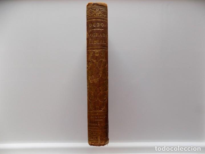 Libros antiguos: LIBRERIA GHOTICA. LA SAGRADA BIBLIA. TOMO 1 DEL ANTIGUO TESTAMENTO. 1853. EL GÉNESIS. EL ÉXODO. - Foto 2 - 269328468