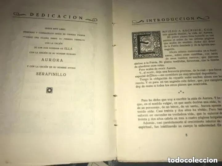 Libros antiguos: ANTIGUO LIBRO SERAFINILLO VÍCTIMA DE AMOR Y DOLOR A DE CASTRO ALBARRÁN 1935 SALAMANCA - Foto 3 - 269401448