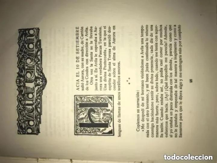 Libros antiguos: ANTIGUO LIBRO SERAFINILLO VÍCTIMA DE AMOR Y DOLOR A DE CASTRO ALBARRÁN 1935 SALAMANCA - Foto 6 - 269401448