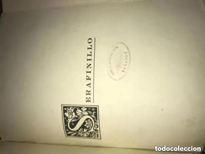 Libros antiguos: ANTIGUO LIBRO SERAFINILLO VÍCTIMA DE AMOR Y DOLOR A DE CASTRO ALBARRÁN 1935 SALAMANCA - Foto 8 - 269401448