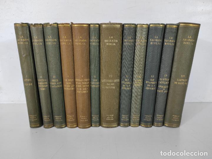 LA SAGRADA BIBLIA - FUNDACIÓ BÍBLICA CATALANA - EDITORIAL ALPHA - 11 TOMOS - EN CATALÀ - AÑO 1929 (Libros Antiguos, Raros y Curiosos - Religión)